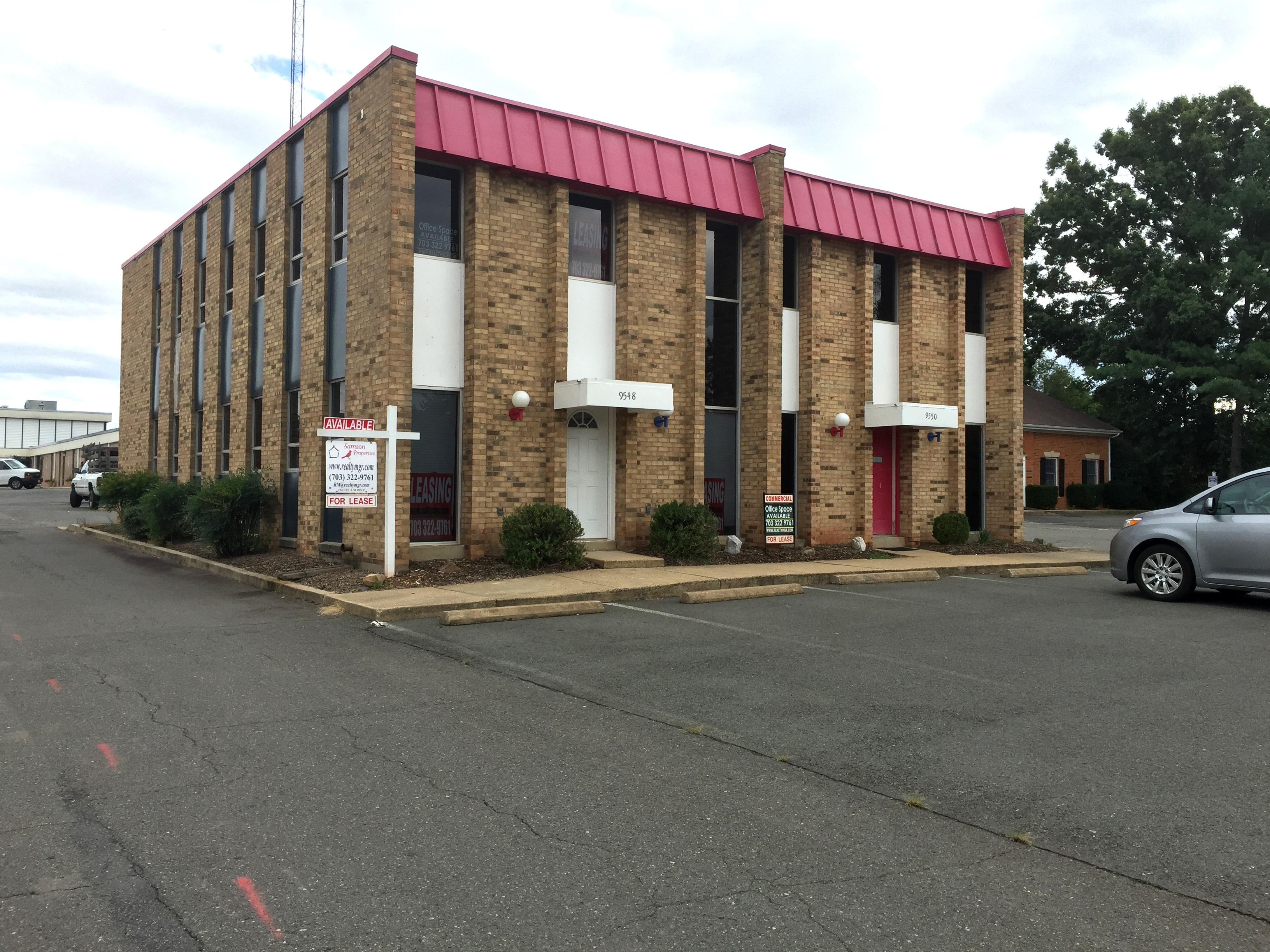 9548 SURVEYOR CT, MANASSAS, VA,   MEDICAL BUILDING FOR LEASE